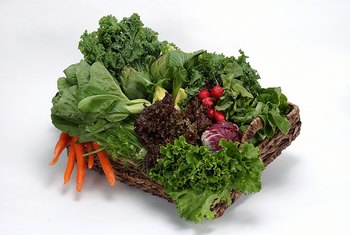 Leafy greens are allowed during the Cruise phase of the Dukan Diet.