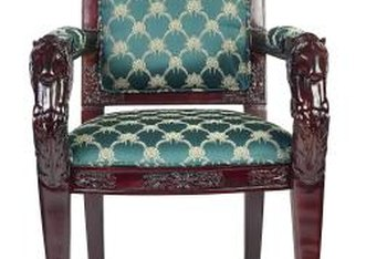 Know the approximate yardage needed for reupholstering common furniture pieces.