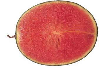 Seedless watermelons have a more uniform texture than seeded watermelons.