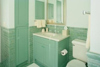 How To Refinish A Laminated Particle Board Bathroom Vanity Home - Refinish a bathroom