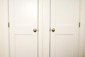 Paint A Closet Door For A New Look To A Room.