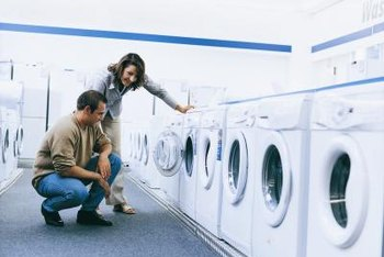 Performance metrics make it easier to compare washing machine models.
