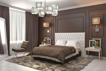 Bedroom Colors Brown bedroom color themes with earth tones | home guides | sf gate