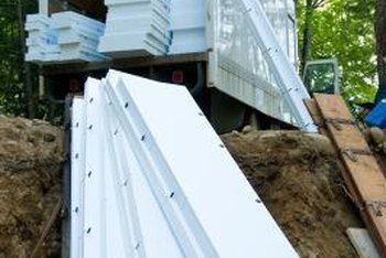 Foam insulation can be purchased in both a spray or rigid, precut boards.