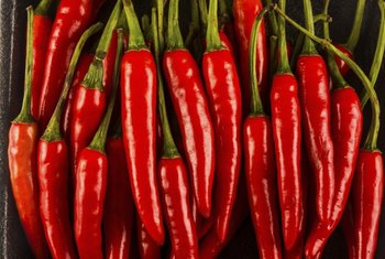 Cayenne peppers are packed with heat.