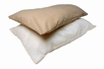 Bodily fluids such as perspiration cause stains on pillows.