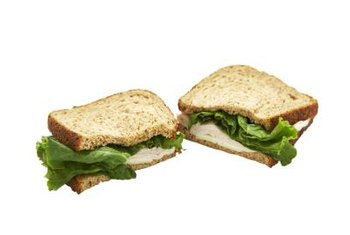 A low-fat turkey sandwich doesn't have to be boring.