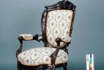 Identifying an authentic antique armchairs takes a little bit of detective work.