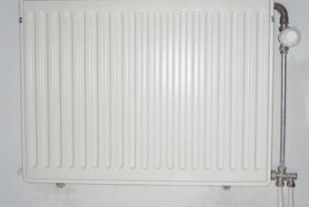 Radiator heaters use steam from a boiler to heat the home.