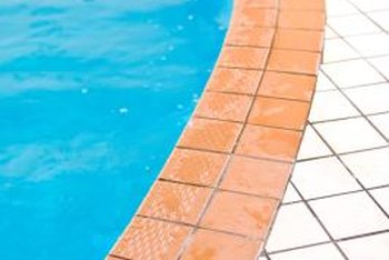 Pools are not drained for cleaning purposes.