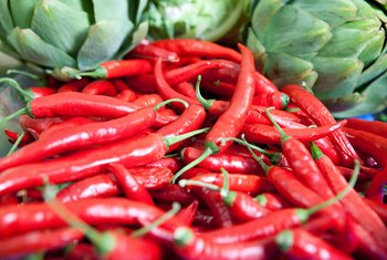 Hot peppers offer a slight calorie-burning edge.