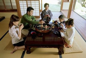 Japanese furniture is clean and simple, with low profiles and few, if any, embellishments.