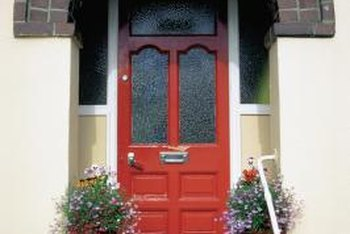 The front door is often the most visible part of the house.