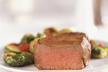 Lean beef and vegetables are allowed on the Paleo and HCG diets.