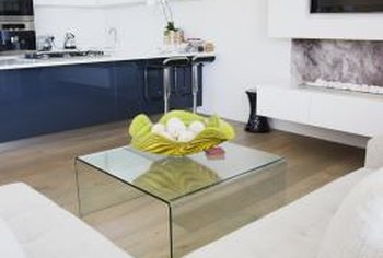 Return the coffee table to its original shape by removing ugly scratches.