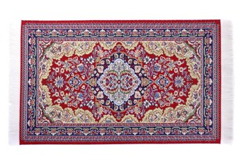 A deep-nap, wool Oriental rug should be cleaned by hand to preserve its life.