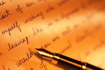 A handwritten letter can give a personal touch to a real estate offer.