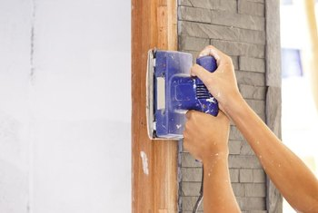 Sanding the trim is a last resort you shouldn't need.