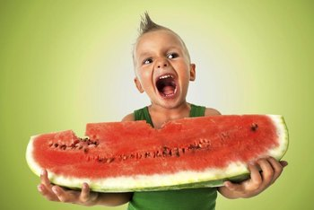 Larger-sized watermelons are harder to find unless you grow your own.