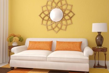 Gentil Yellow Walls, From Clear And Sunny To Deep And Sultry, Work With Many  Coordinating