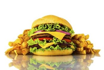 The content of fast-food burgers is a hotbed of rumors.