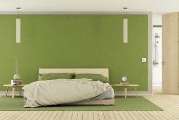 If You Love Lime Green, Use A Muted Tone In The Bedroom Or Work It