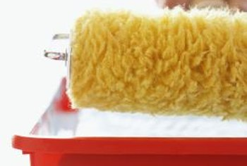 A Paint Roller With Thick Fibers Will Create Slight Orange L Texture