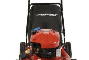 Performing regular maintenance helps keep your lawnmower running correctly.