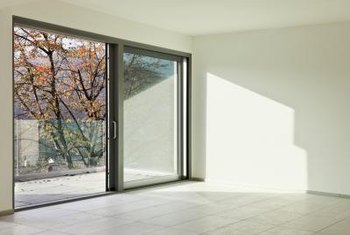 Salty Air, Snow And Poor Drainage Can All Corrode A Sliding Door Track.