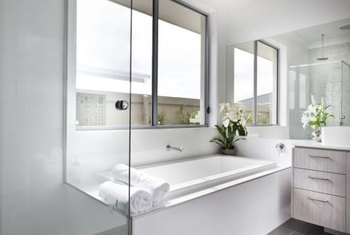 A Cultured Marble Tub Surround Is Er Than Ceramic Tile Or Natural Stone