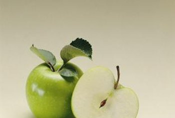 Granny Smith apples are crisp, healthy and delicious.