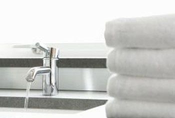 Replacing faucet seals is a routine maintenance task.