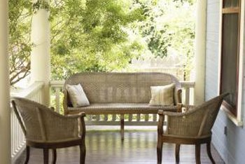 Keep your porch floors looking good by sanding and finishing them periodically.