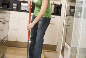Keeping floors clean prevents slips.