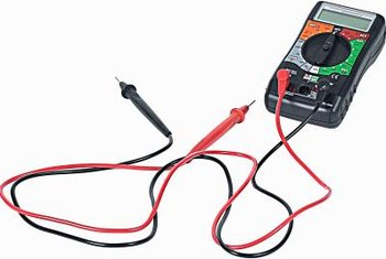 A voltage tester is an important safety tool when doing electrical work.