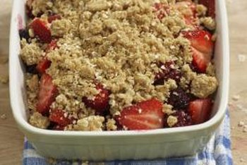 Mixed fruit cobblers are a delicious way to increase your fruit consumption.