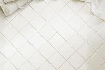 Select a neutral color of tile to coordinate with any decor scheme.