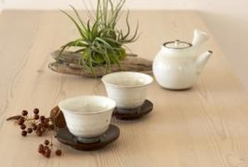 How To Remove White Marks From Wood Table Tops. Heat From Teapots And Cups  Can Leave White Rings On Your Table.