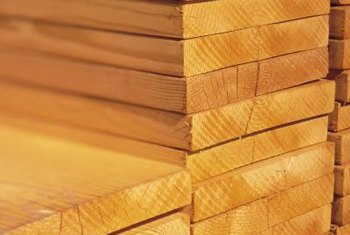 Decking wood is usually sold by the linear foot.