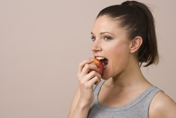 Eating apples provides a number of nutrients for your body.