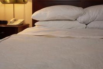 Cared-for Egyptian-cotton sheets keep you comfy for years to come.