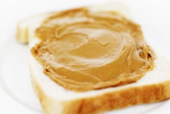 Go easy on the peanut butter sandwiches.