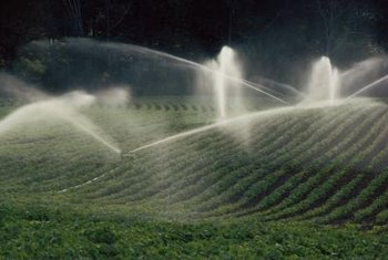 Each part of the sprinkler system releases pressure necessary for operation.