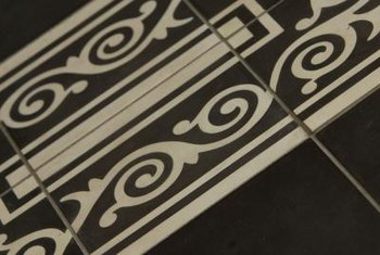 Patterned, embossed or textured tiles are especially difficult to match.