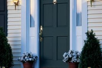 Many fiberglass doors are visually indistinguishable from steel or wood varieties.