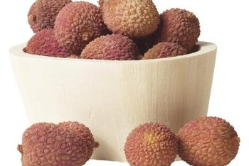 Use lychee as an ingredient for a fruit salad.