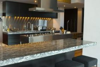 Countertops can be a reflection of the homeowners' taste and style.