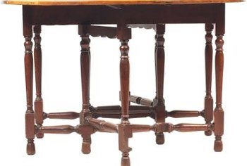 Clean An Antique Wood Table Chairs
