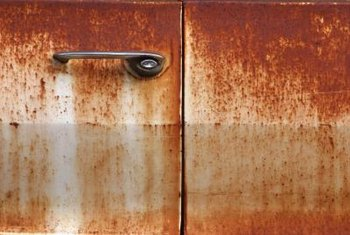 The presence of rust is a sign of damage to your appliance.