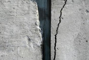 Fill in cracks before you begin decorating.